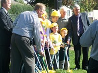 Image from Ground Breaking ceremony